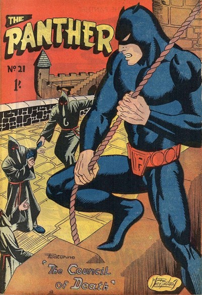 The Panther (Youngs, 1957 series) #21 ([January 1959?])