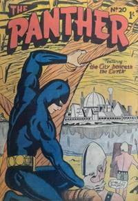 The Panther (Youngs, 1957 series) #20 — The City Beneath the Earth