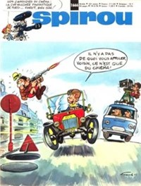 Spirou (Dupuis, 1947 series) #1666 — No title recorded (Cover)