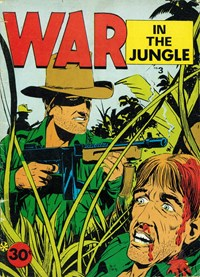 War in the Jungle (Yaffa/Page, 1973 series) #3 — Untitled (Cover)