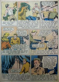 A Climax Comic (KG Murray, 1947 series)  — Kidnap Cavern (page 3)