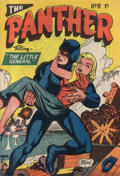 The Panther (Youngs, 1957 series) #8 ([December 1957?])