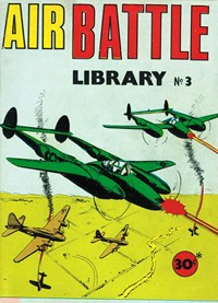Air Battle Library (Yaffa/Page, 1974 series) #3 — Untitled