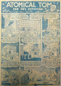 A Climax All Color Comic (KG Murray, 1948 series) #7 — Untitled (page 1)