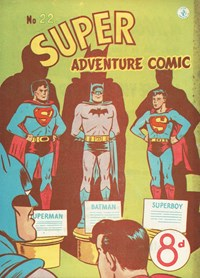 Super Adventure Comic (Colour Comics, 1950 series) #22 — Untitled