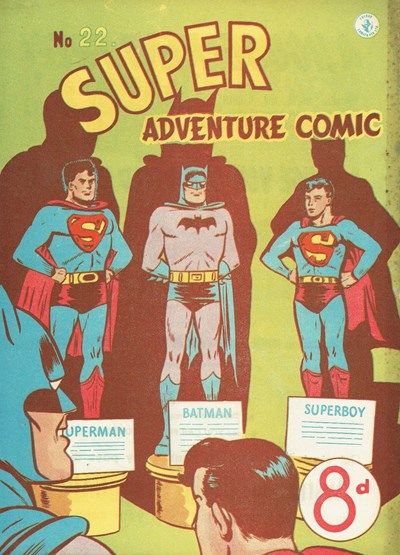 Super Adventure Comic (Colour Comics, 1950 series) #22 ([April 1952])