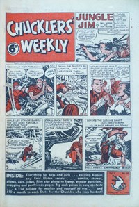 Chucklers' Weekly (Consolidated Press, 1954? series) v1#42 (11 February 1955)