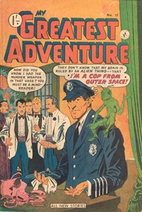 My Greatest Adventure (Colour Comics, 1955 series) #17 ([August 1956])