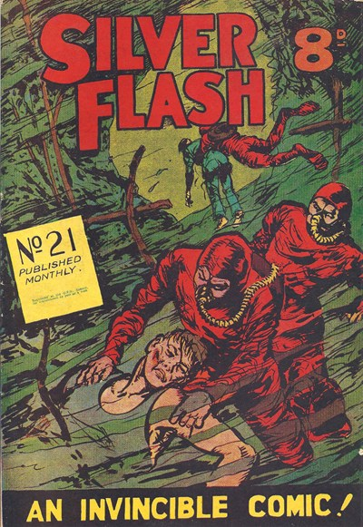 Silver Flash and his Frog-Men (Invincible, 1949 series) #21 (February 1952)