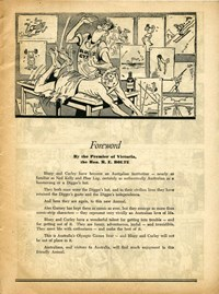 Bluey and Curley Annual (Herald, 1946? series) #1955 — Foreword (page 1)