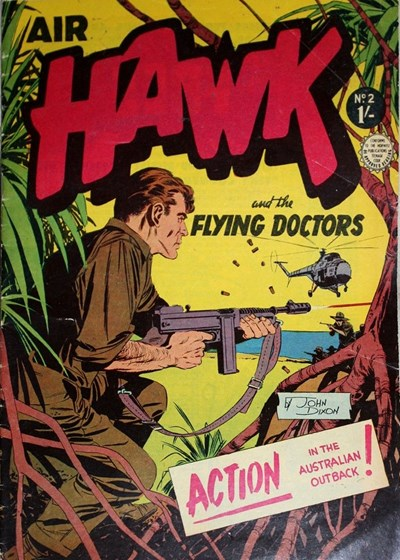 Air Hawk and the Flying Doctors (Horwitz, 1962 series) #2 ([1962])