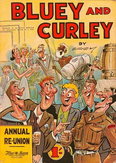 Bluey and Curley Annual (Herald, 1946? series)  (1953) —Annual Re-Union