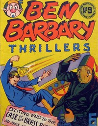 Ben Barbary Thrillers (Illustrated Press, 1947 series) #9 ([1948?])
