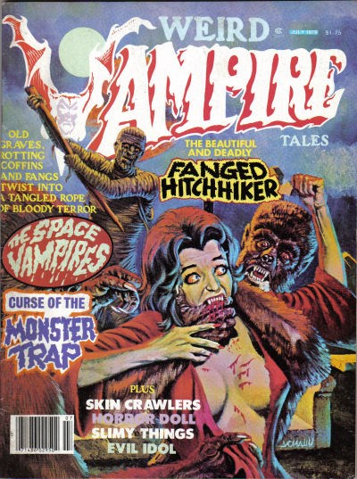 Weird Vampire Tales (Modern Day, 1979 series) #Vol. 3 No. 2 (July 1979)