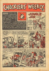 Chucklers' Weekly (Consolidated Press, 1954? series) v1#43 (18 February 1955)