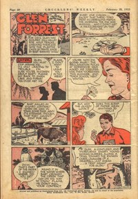 Chucklers' Weekly (Consolidated Press, 1954? series) v1#43 — Glen Forrest (page 1)