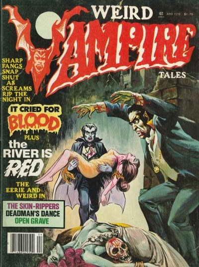 Weird Vampire Tales (Modern Day, 1979 series) #Vol. 3 No. 1 (April 1979)
