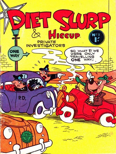 Diet Slurp & Hiccup Private Investigators (Horwitz, 1958? series) #3 ([1959?])