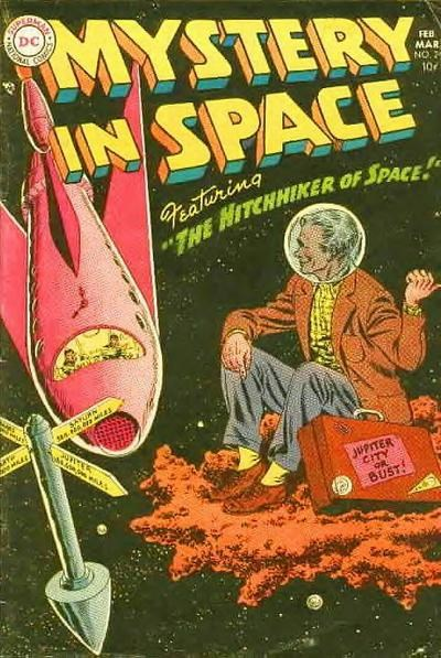 Mystery in Space (DC, 1951 series) #24 (February-March 1955)