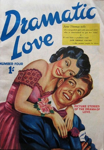 Dramatic Love (Pyramid, 1951? series) #4 ([1951?])
