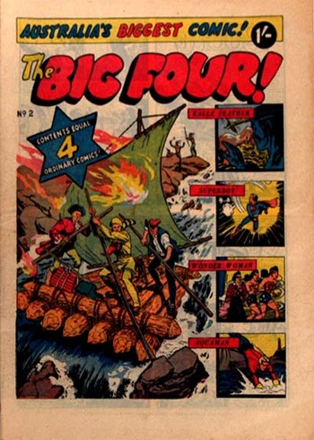 The Big Four (KG Murray, 195-? series) #2 ([1956??])
