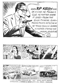 Rip Kirby Ace Detective (Yaffa/Page, 1964? series) #42 — Untitled (page 1)