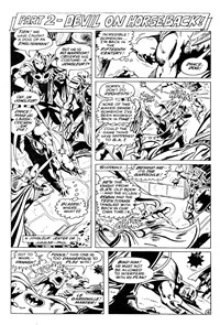 Bumper Batcomic (Murray, 1978 series) #20 — Part 2 - Devil On Horseback! [The Arrow of Eternity] (page 1)