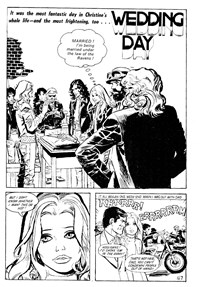 Young Love (KG Murray, 1975 series) #26 — Wedding Day (page 1)
