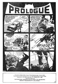 Nemesis (KGM, 1982?)  — …If Justice Be Blind! (page 1)