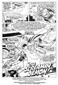 Superboy (Murray, 1980 series) #119 — The Screamin' Demon (page 1)