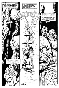 Slaves of the Golden Queen, Page 1—Savage Tales (Federal, 1983 series) #5  ([June 1984?])