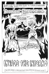 Invade the Inferno, Page 1—Savage Tales (Federal, 1983 series) #5  ([June 1984?])