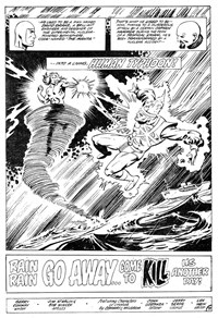Firestorm (Murray, 1982?)  — Rain Rain Go Away…Come to Kill Another Day (page 1)