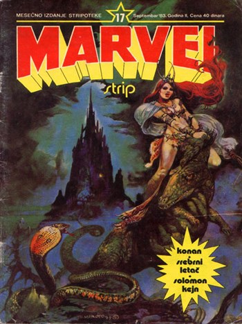Marvel Strip (Marketprint, 1982? series) #17  (September 1983)
