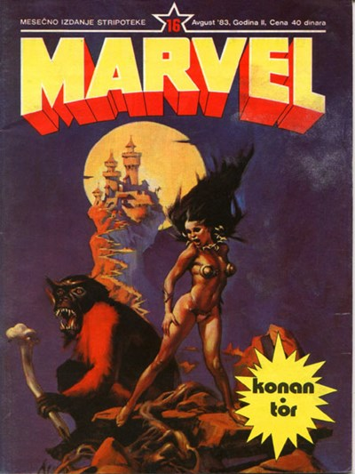 Marvel Strip (Marketprint, 1982? series) #16  (August 1983)