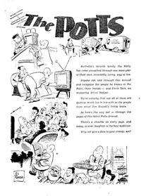 The Potts Annual (Sun, 1952 series)  — The Potts (page 1)
