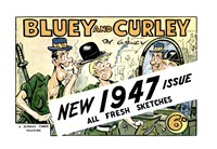 "Bluey and Curley (""Truth"" and ""Sportsman"", 1942? series) #1947 — New 1947 Issue"