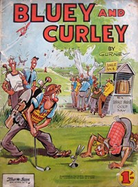 Bluey and Curley Annual (Herald, 1946? series)  (1954)