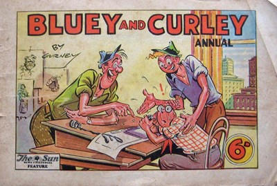 Bluey and Curley Annual (Herald, 1946? series)  (1948)