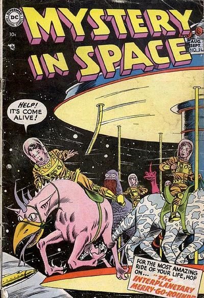Mystery in Space (DC, 1951 series) #21 (August-September 1954)
