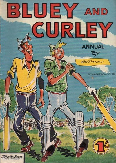 Bluey and Curley Annual (Herald, 1946? series)  ([1958])