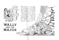 Wally and the Major [Herald] (Herald and Weekly Times, 1942? series) #8 — Wally and the Major (page 1)