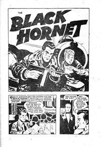 The Black Hornet, Page 1—The Crimson Comet (Action Comics, 1955 series) #18  ([1956?])