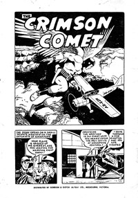 Page 1—The Crimson Comet (Action Comics, 1955 series) #15  ([1955])