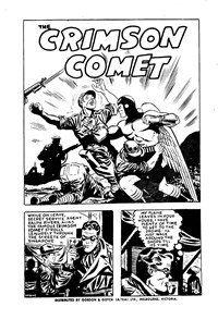 Page 1—The Crimson Comet (Action Comics, 1955 series) #17  ([1956?])