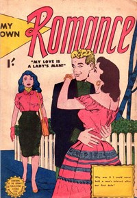 My Own Romance (Horwitz, 1958?)  — My Love is a Lady's Man! (Cover)
