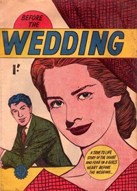 Before the Wedding (Horwitz, 1957?)  — Untitled (Cover)