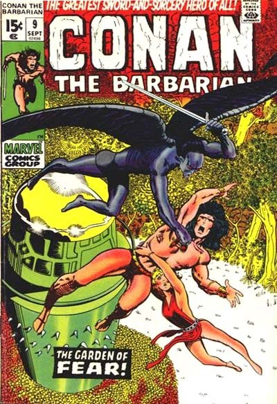 Conan the Barbarian (Marvel, 1970 series) #9 (September 1971)