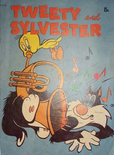 Tweety and Sylvester (Magman, 1971) #2115 (February 1971)