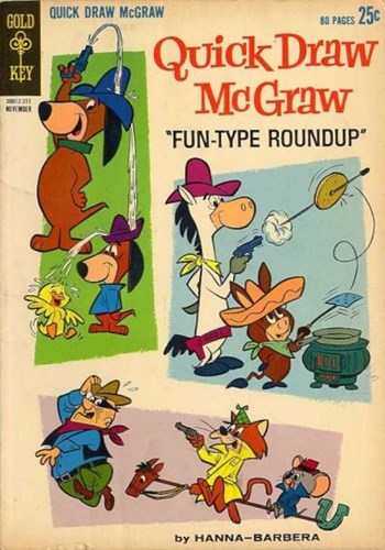 Quick Draw McGraw (Gold Key, 1962 series) #12  (November 1962)